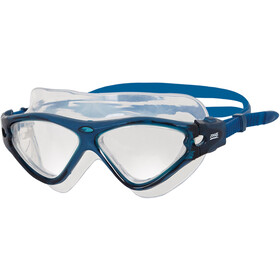 Zoggs Tri-Vision Maschera, blue/clear